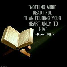 Nothing more beautiful alhamdulillah