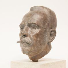 portret in brons van Nanne Ottema