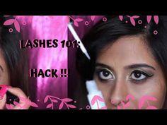 LASHES 101 : EASY way to apply lashes | Eyelash Application HACK | Chermel's World - YouTube