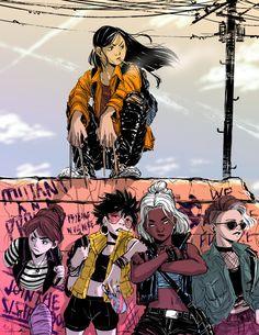 young x-fem by radimudio Wolverine Xmen, All New Wolverine, Comic Book Characters, Comic Books Art, Comic Art, Marvel Comics, Anime Comics, X Men Evolution, Fiction