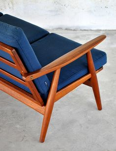 HANS J. WEGNER for Getama Gedsted Teak Sofa / Couch       Model: GE-270 on Etsy, $4,400.00