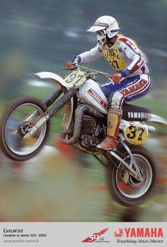 Motocross # Hakan Carlqvist 37 # yamaha