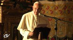 Este es el discurso completo que el Papa Francisco pronunció ante representantes de la sociedad civil en la Iglesia San Francisco en Quito, Ecuador: