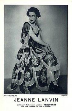 Jeanne Lanvin gown