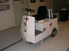 Krankenwagen im Regierungsbunker