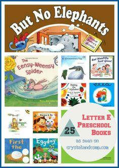25 letter E books for preschoolers