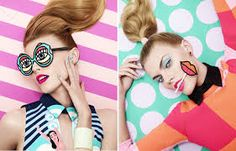 Resultado de imagen para pop art makeup