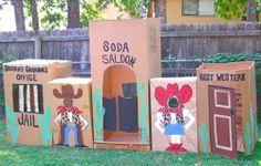 Ideas fáciles para una fiesta del Oeste poblado de cartón I