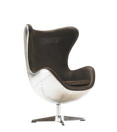 Fauteuil Design Apollo Rocking Chair Aviator Pivotant A 360°
