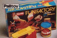 70s toys - I hated the smell of the playdough lol