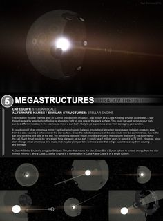 Megastructures 5 Shkadov Thruster Design Packet by https://www.deviantart.com/artofsoulburn on @DeviantArt