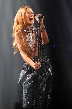 Rihanna in Lanvin