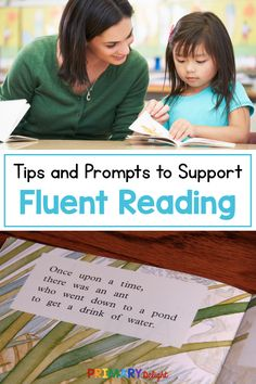 Looking for ways to support fluent reading in early learners? These tips will help you model and prompt for reading fluency from the first read. Reading Fluency Activities, Kindergarten Reading, Reading Strategies, Kids Reading, Guided Reading, Teaching Reading, Reading Tips, Reading Room, Teaching Tools