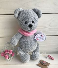 Irresistible Crochet a Doll Ideas. Radiant Crochet a Doll Ideas. Crochet Teddy, Crochet Bear, Love Crochet, Learn To Crochet, Crochet Animals, Crochet Dolls, Crochet Crafts, Crochet Projects, Amigurumi Patterns