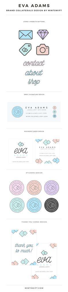 Brand Design for Eva Adams