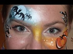 face painting Lisa Joy Young | YouTube Video - Christmas Face Painting - Snowman