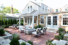 Nantucket Style Homes, Nantucket Home, Exterior, Patio, Traditional, Interior Design, Outdoor Decor, Instagram, Posts