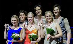 2014 dance medalists Skate Canada International