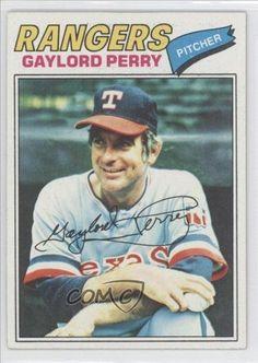 1977 Topps # 152 Gaylord Perry Texas Rangers Baseball Card by Topps. $0.01. 1977 Topps #152 - Gaylord Perry