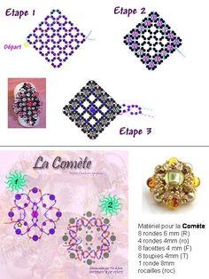 abalorios esquemas | ... marzo 2009 en 540 × 720 en abalorios: esquemas de anillos y colgantes