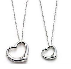 Tiffany Jewelry Sets Silver Hollow Heart This Tiffany Jewelry Product Features: Category:Tiffany & Co Sets Material: Sterling Silver