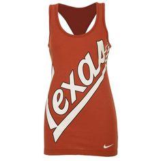 Nike Women's University of Texas Boyfriend Tank Top