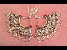 Regal Lace Earrings Tutorial - YouTube