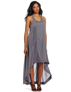 Kenneth Cole Women's High-Low Maxi Dress with Seaming Detail, Graphite, X-Large Hi-low dress with seaming detail Click Picture for More Info Hi Low Dresses, Cheap Dresses, Plus Size Dresses, Asymmetrical Dress, Homecoming Dresses, New Dress, Evening Dresses, Luxury Fashion, High Low