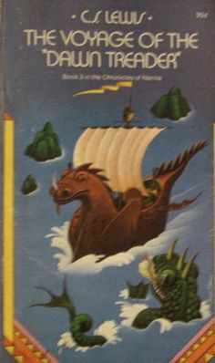 "The Voyage of the ""Dawn Treader"" ~ C.S. Lewis ~ 1976 Paperback Edition ~ by C.S. Lewis"