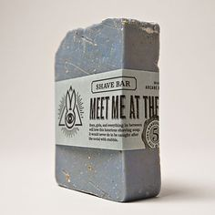 Meet Me at the Waterfront. Boys, girls, and everything in between will love this luxurious shaving soap. It would never do to be caught after the social with stubble.  Fresh and frisky... just like summer camp! Top notes of eucalyptus, peppermint, and ginger are grounded with thyme and touches of amber and musk. Ground oatmeal exfoliates and soothes while clay helps the razor glide smoothly over skin.