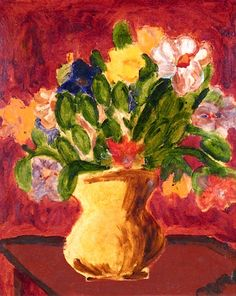 Flowers in a jug, Sir Mathew Smith, C.B.E
