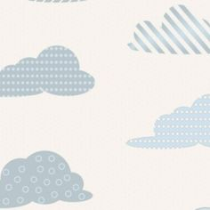 1st Floor / On Ceiling Of The Boys Restroom / Clouds Wallpaper