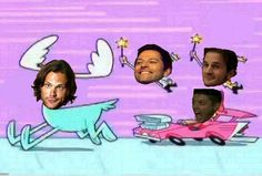 ... It's hilarious because it's perfect. #Supernatural