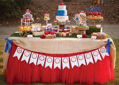 Decoração aniversário Branca de Neve
