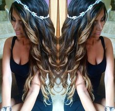 curls and the perfect headband