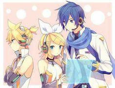 Len,Rin and Kaito