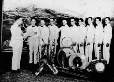 Charles Fulcher and his Orchestra - 1924 - Left to Right: Charles Fulcher, Phil Stevens, unknown, unknown, Jack Carthcart, the rest unknown.