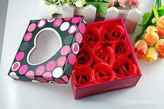 Christmas Gifts(Buy Two Get Third Free)---Lepin Handmade Rose Bath Aromas Soap #Lepin
