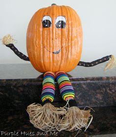 A Whimsical Pumpkin