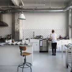 Cultivating dreams of having an incubation kitchen in The Publishing House, Sunday Supper studio is perrrrrrfect. .