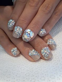 awesome #bling #nails #formalapproach