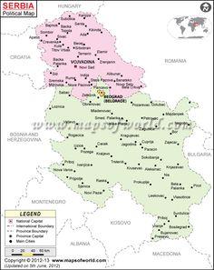 Political Map of Bosnia and Herzegovina - Ezilon Maps | United ...
