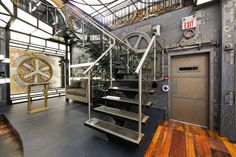 Big Brother Canada house goes 'steampunk' – pictures Steampunk Shop, Steampunk Accessoires, Big Brother Canada, Big Brother House, House Staircase, Canada House, Theme Pictures, Stairways, House Tours