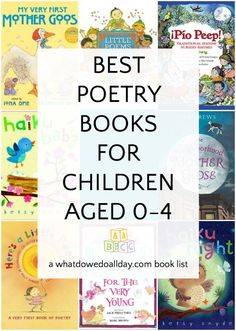 Yes you can read poetry to babies and toddlers! A list of the the best poems for babies toddlers and preschoolers too! Poetry Books For Kids, Best Poetry Books, Best Children Books, Toddler Books, Childrens Books, Good Books, Preschool Books, Toddler Preschool, Baby Poems
