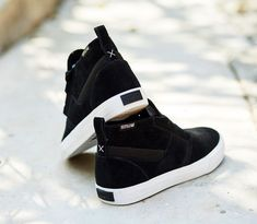 Supra Footwear, Supra Kensington Black/White