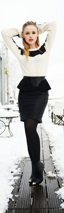 #b/w  women fashion #2dayslook #my style#stylefashionwomen  www.2dayslook.com
