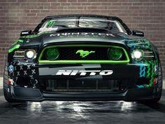 Vaughn Gittins New Mustang RTR
