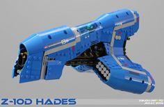 Z-10d HADES Beam-Starfighter by Scharnvirk.deviantart.com on @deviantART