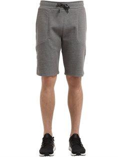 PEAK PERFORMANCE Tech Cotton Blend Sweat Shorts, Grey. #peakperformance #cloth #shorts