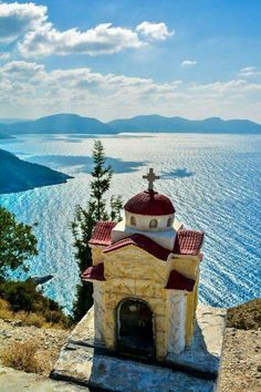 Chapel in Kefalonia island, Ionian Sea, Greece